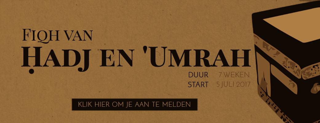 Fiqh van Hadj en 'Umrah